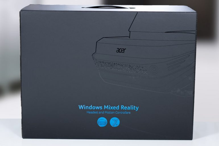 Acer Windows Mixed Reality Headset Outer Box