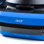 Acer Windows Mixed Reality Headset - Front Closeup