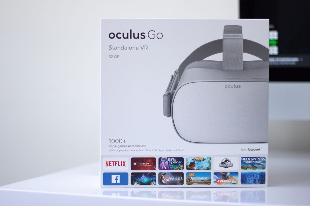 Oculus Go Front of box