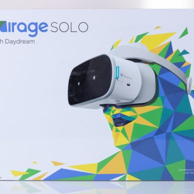 Lenovo Mirage Solo Front of Box