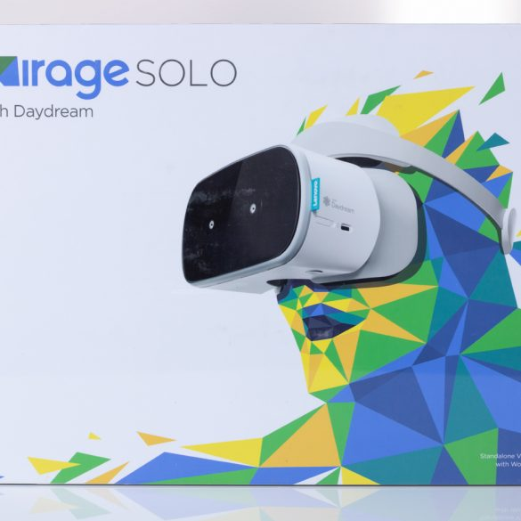 Lenovo Mirage Solo Front of Box