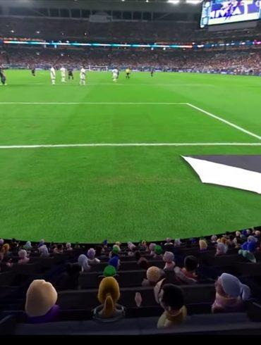 Oculus Launch Venues Entertainment App, Football Stadium.