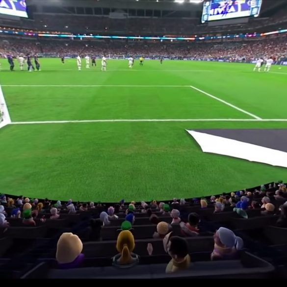Oculus Launch Venues Entertainment App, Football Stadium.