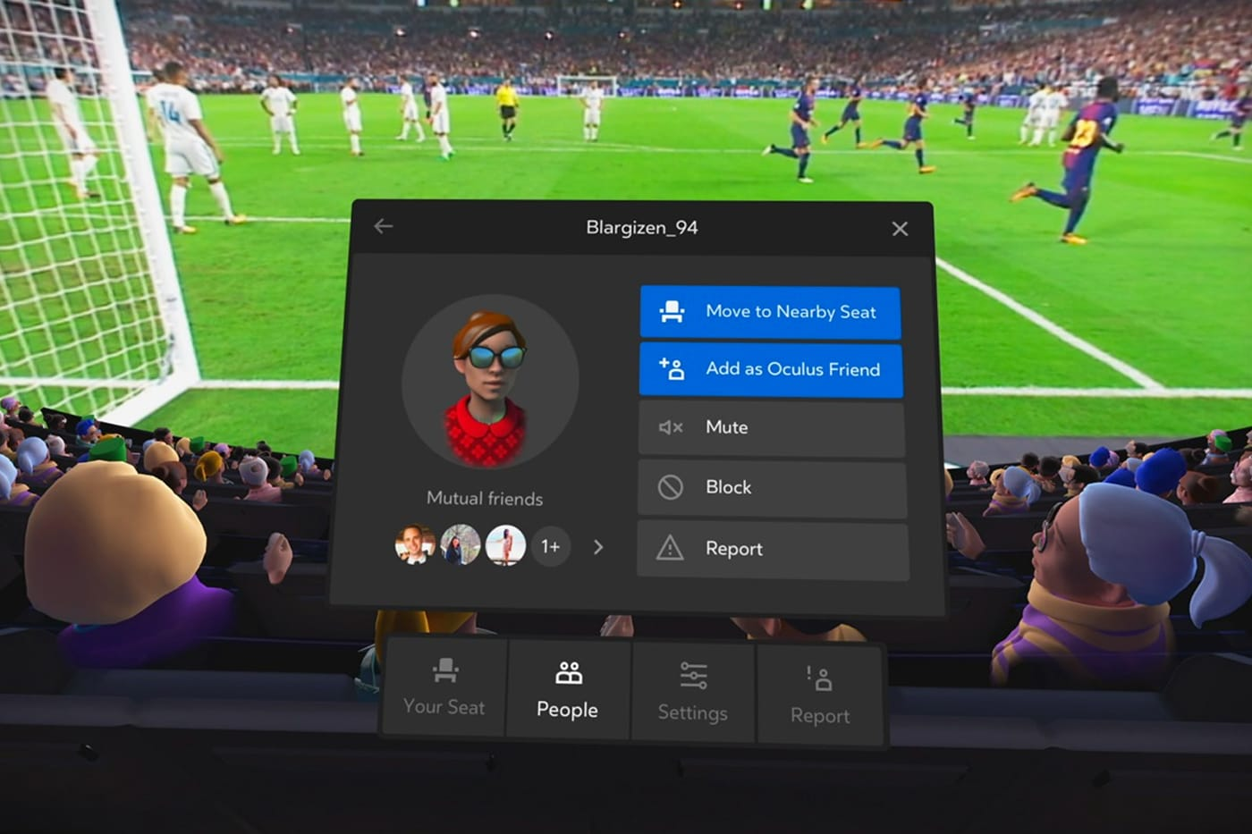 Oculus Venues - Football