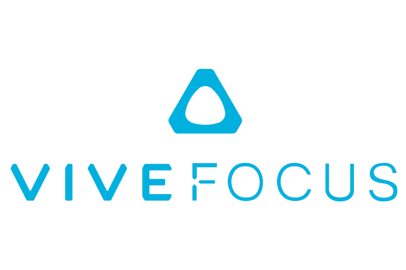 HTC Vive Focus Logo in Electric Blue