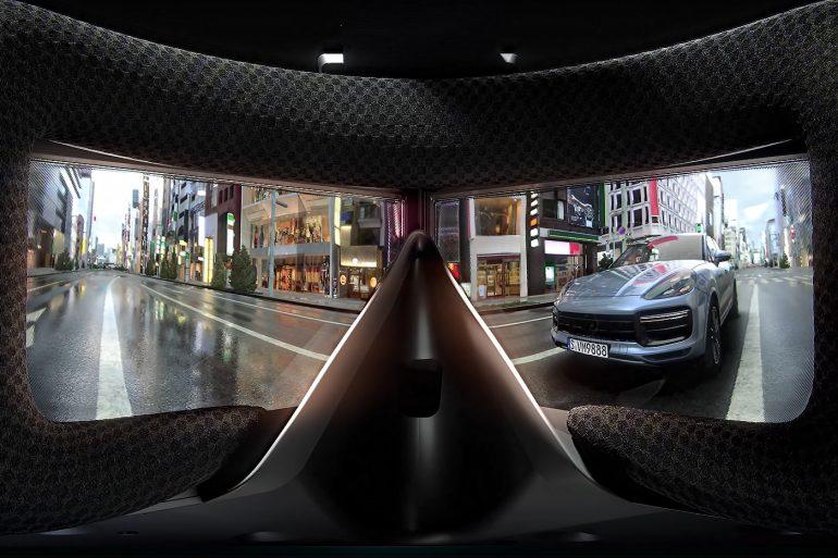 StarVR One Headset - Inside View