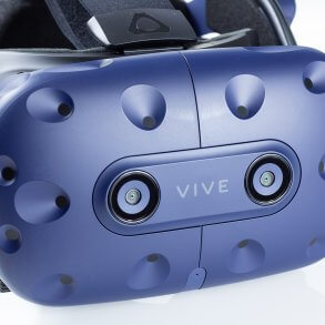 HTC Vive Pro - front view of headset