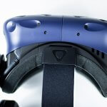 HTC Vive Pro - top view